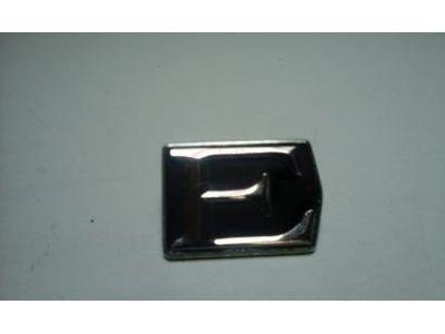 Sem modelo atribuído - Emblema traseiro (E)