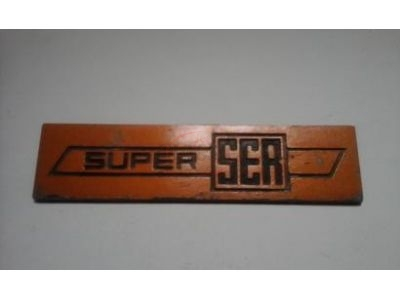 Sem modelo atribuído - Emblema (Super SER)