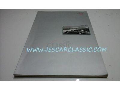 Audi A8 - Catálogo de lançamento