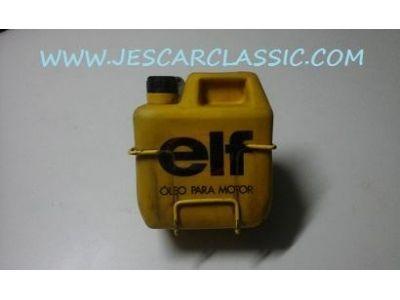 Renault 4 / Renault 5 / Renault 6 / Renault 8 - Embalagem óleo motor e suporte (ELF)