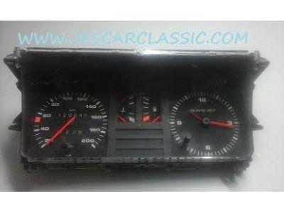 Audi 80 B2 / Audi 80 Coupé GT Quattro B2 - Quadrante de conta kms com relógio (VDO)