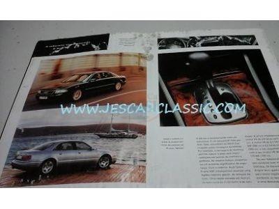 Audi A3 / Audi A4 / Audi RS4 / Audi A6 / Audi A8 / Audi 80 Cabriolet - Catálogo de lançamento (Os Modelos)